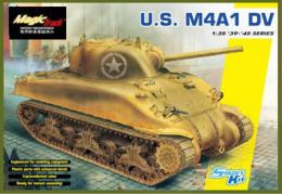 DRAGON 1/35 US M4A1 DV (w/magic tracks)