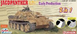 DRAGON 1/35 Jagdpanther Early Prod. 2in1 1/35