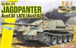 DRAGON 1/35 Jagdpanther G1 Late/G2 (2in1)