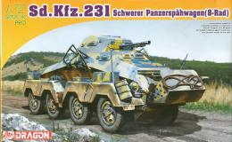 DRAGON 1/72 Sd.Kfz.231
