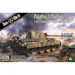 DAS WERK 1/35  Pzkpfwg.V Panther A late 2 in 1 (Sd.Kfz.171 / 268) w/o interior