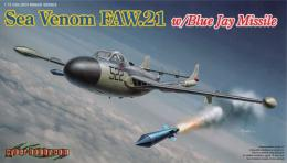 DRAGON CYBER-HOBBY 1/72 Sea Venom Mk.21 w/BlueJayMiss.
