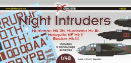 DK DECALS 1/48 Night Intruders (5x camo)