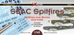 DK DECALS 1/48 SEAC Spitfires over Burma and India