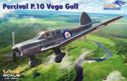DORA WINGS 1/48 Percival P.10 Vega Gull (2x camo)