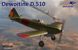 DORA WING 1/48 Dewoitine D.510 Spanish Civil War (2x camo)