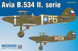 EDUARD WEEKEND 1/72 B-534 II. series