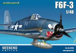 EDUARD WEEKEND 1/48 F6F-3 Hellcat