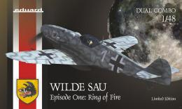 EDUARD LIMITED 1/48 Wilde Sau Episode one Ring of Fire  Dual Combo - zvìtšit obrázek