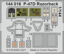 SET 1/144 P-47D Razorback for EDU/PLATZ