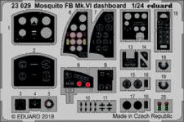 EDUARD Lepty 1/24 SET Mosquito FB Mk.VI dashboard for AIRF
