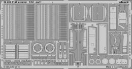 EDUARD Lepty 1/32 SET F-5E exterior for KIT