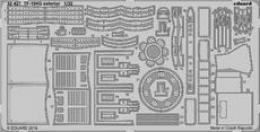 EDUARD Lepty 1/32 SET TF-104G exterior for ITA