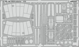 EDUARD SET 1/32 Me-262A Schwalbe exterior for REV