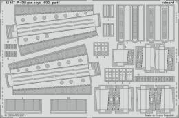 EDUARD SET 1/32 P-40M gun bays for TRU