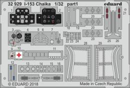 EDUARD Lepty 1/32 SET I-153 Chaika for ICM