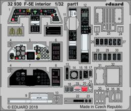 EDUARD Lepty 1/32 SET F-5E interior for KIT