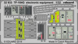 EDUARD Lepty 1/32 SET TF-104G electronic equipment for ITA