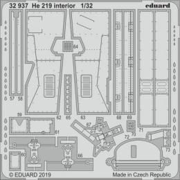 EDUARD SET 1/32 He 219 interior for REV