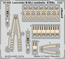 EDUARD SET 1/32 Lancaster B Mk.I seatbelts STEEL for HK