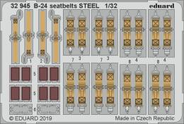 EDUARD Lepty 1/32  B-24 seatbelts STEEL for HOBBYB