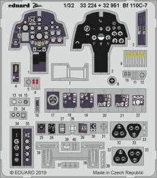 EDUARD SET 1/32 Bf-110C-7 interior for REV