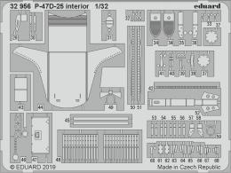 EDUARD SET 1/32  P-47D-25 Thunderbolt  interior for HAS