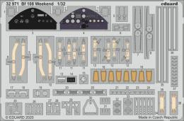 EDUARD SET 1/32 Bf 108 Weekend for EDU