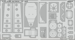 EDUARD SET 1/32 A-26B Invader  rear interior for HBB