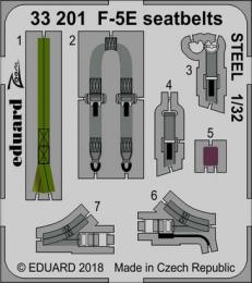 EDUARD Lepty 1/32 F-5E seatbelts STEEL for KIT