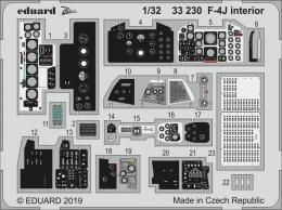 EDUARD SET 1/32 F-4J Phantom II interior for TAM
