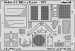 EDUARD SET 1/35 U.S. Millitary Tractor for AIR