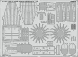 EDUARD SET 1/48 B-26B-50 Invader undercarriage + exterior for ICM