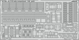 EDUARD SET 1/48 He 111Z radio compartment for ICM
