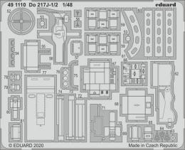 EDUARD SET 1/48 Do 217J-1/2 for ICM