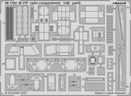 EDUARD SET 1/48 B-17F Flying Fortress radio compartment for HK