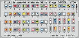 EDUARD Lepty 1/700 International Marine Signal Flags STEEL