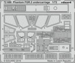 EDUARD SET 1/72 Phantom FGR.2 undercarriage for AIR