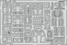 EDUARD SET 1/72 L-29 Delfin for EDU