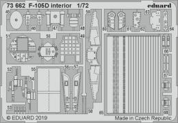 EDUARD Lepty 1/72 F-105D Thunderchief interior for TRUMP