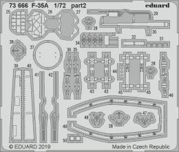 EDUARD Lepty 1/72 F-35A for ACAD
