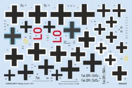 DECALS 1/32  Flying circus / JG I for MENG Dr.I