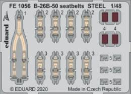 EDUARD ZOOM 1/48 B-26B-50 Invader seatbelts STEEL for ICM