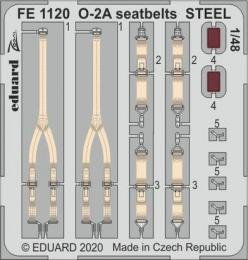 EDUARD ZOOM 1/48 O-2A seatbelts STEEL for ICM