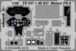 EDUARD ZOOM 1/48 Meteor FR.9 for AIRF