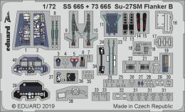 EDUARD ZOOM 1/72 Su-27SM Flanker B for ZVE