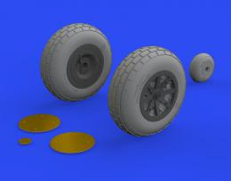 EDUARD BRASSIN 1/32 P-40E wheels for TRU