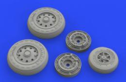 EDUARD BRASSIN 1/48 F-104 Starfighter wheels early for KIN