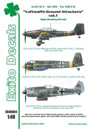 EXITO Decals 1/48 Luftwaffe Ground Attacke