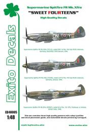 EXITO Decals 1/48 Sweet Fourteens (Spitfire Mk.XIV)